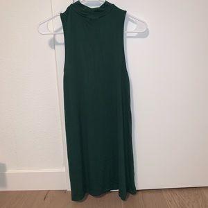 Topshop Mockneck Dress